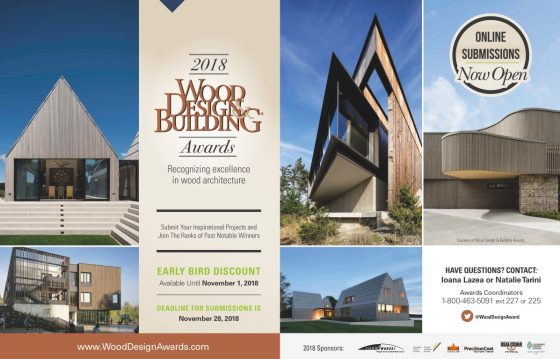 2018 Wood Design Building Awards